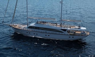 Acapella yacht charter Custom Sail Yacht