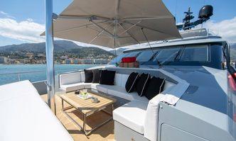 The Shadow yacht charter Mondo Marine Motor Yacht