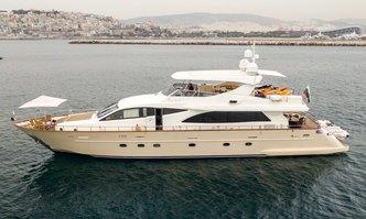 Star Link yacht charter Falcon Motor Yacht