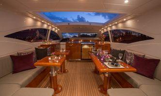 Defiance yacht charter Overmarine Motor Yacht