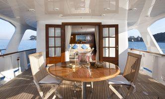 Mizar yacht charter Benetti Motor Yacht