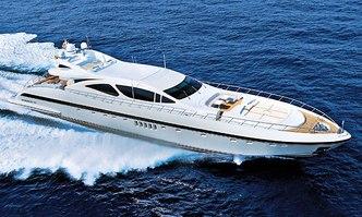 You & G yacht charter Overmarine Motor Yacht