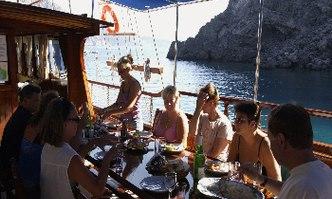 Bahriyeli C yacht charter Custom Sail Yacht