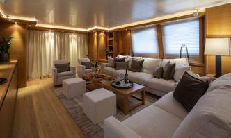Celia yacht charter Falcon Motor Yacht