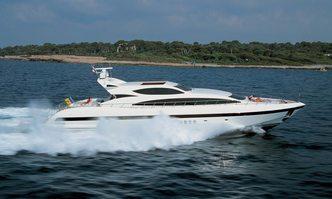 Storm yacht charter Overmarine Motor Yacht