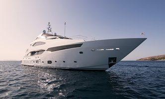Pathos yacht charter Sunseeker Motor Yacht