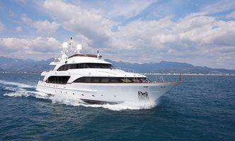 Ahida 2 yacht charter Benetti Motor Yacht