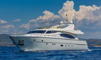 Katariina yacht charter Ferretti Yachts Motor Yacht