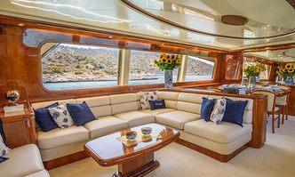 Estia Poseidon yacht charter Falcon Motor Yacht