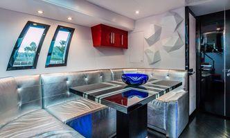 Sexy yacht charter Lazzara Motor Yacht