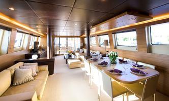 Gioe I yacht charter Tecnomar Motor Yacht