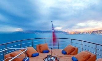 Camara C yacht charter Yarrow & Co Motor Yacht