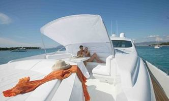 Solaris yacht charter Pershing Motor Yacht