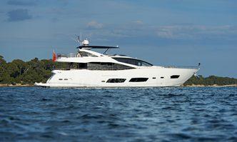 Oasis yacht charter Sunseeker Motor Yacht