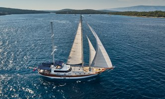 Lotus yacht charter Custom Sail Yacht