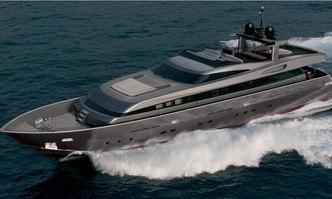 iRock yacht charter Baglietto Motor Yacht