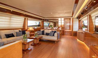 Estia Yi yacht charter Ferretti Yachts Motor Yacht