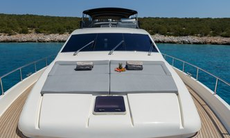 My Way yacht charter Ferretti Yachts Motor Yacht