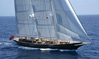 Meteor yacht charter Royal Huisman Sail Yacht
