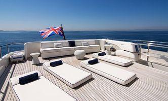 Condor A yacht charter Tecnomar Motor Yacht