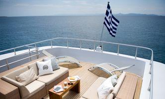 Ithaki yacht charter Baglietto Motor Yacht