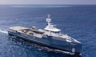 Dapple yacht charter Damen Yachting Motor Yacht