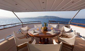 Dune yacht charter Benetti Motor Yacht