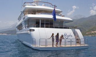 Mystic yacht charter CMB Yachts Motor Yacht
