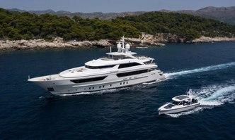 Lammouche yacht charter Sanlorenzo Motor Yacht