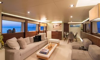 Salina yacht charter Admiral Yachts Motor Yacht