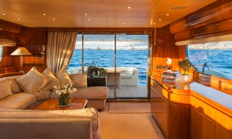 Dilias yacht charter Cantieri Navali Rizzardi Motor Yacht