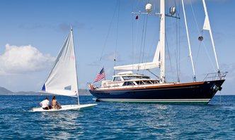 Marae yacht charter Alloy Yachts Sail Yacht