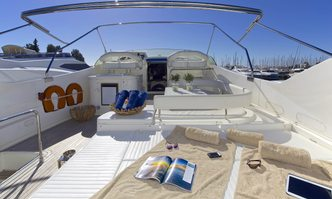 Geepee yacht charter Ferretti Yachts Motor Yacht