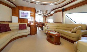 Circus yacht charter Azimut Motor Yacht