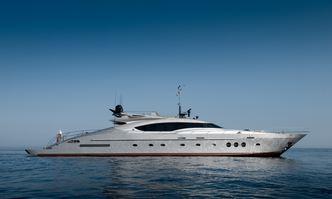 Izumi yacht charter Palmer Johnson Motor Yacht