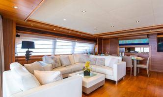 Ethna yacht charter Custom Line Motor Yacht