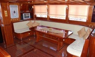 Aderina yacht charter Custom Sail Yacht
