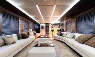 Shadow yacht charter Tecnomar Motor Yacht
