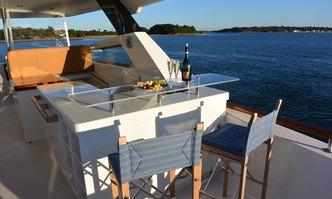 Calliope yacht charter Lazzara Motor Yacht