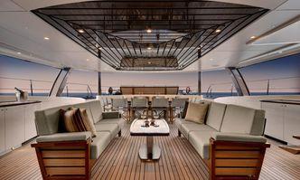 Kokomo yacht charter Alloy Yachts Sail Yacht