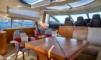 Just Smile yacht charter Sunseeker Motor Yacht