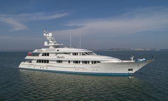Cynthia yacht charter Feadship Motor Yacht