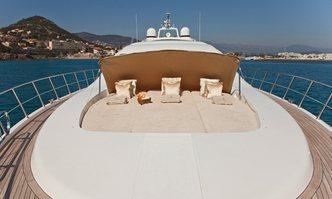 Delhia yacht charter Overmarine Motor Yacht