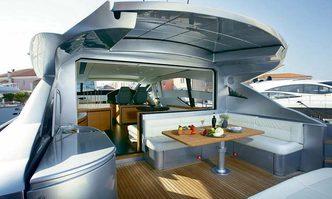 Shalimar yacht charter Pershing Motor Yacht