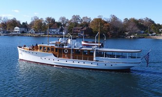 Olympus yacht charter New York Launch  Motor Yacht