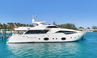 Amore Mio yacht charter Custom Line Motor Yacht