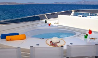 Efmaria yacht charter Falcon Motor Yacht