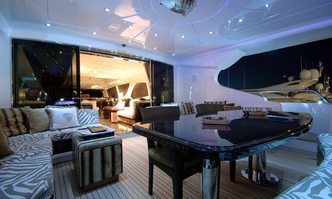 African Cat yacht charter Overmarine Motor Yacht