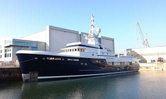 Steel yacht charter Pendennis Motor Yacht