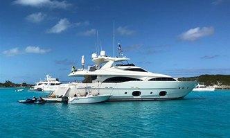 The Capital yacht charter Custom Line Motor Yacht